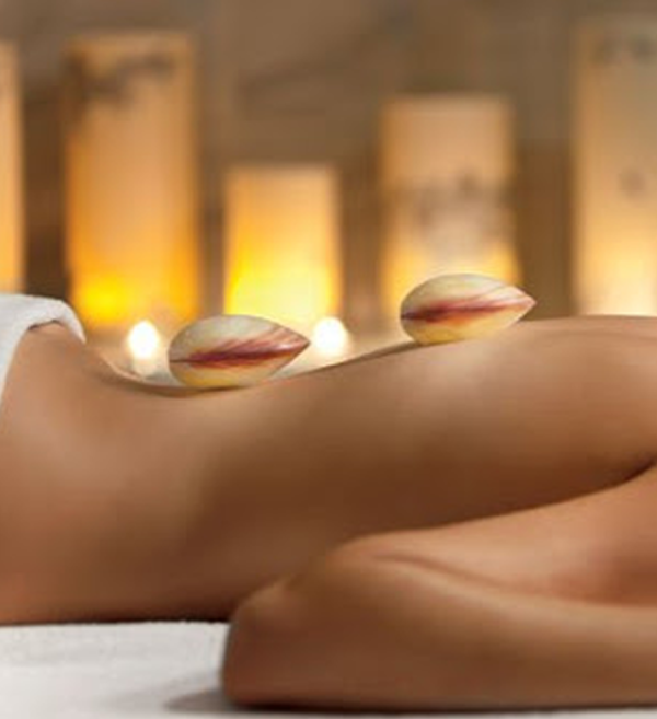 Massage aux coquillages